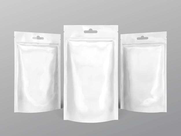 Pacote de folha branca pérola para uso de design em ilustração 3d