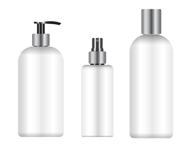 Pacote de frasco de cosmético