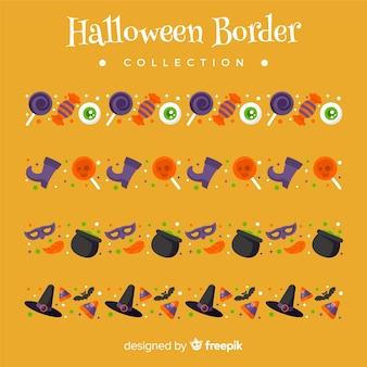 Pacote de fronteira de halloween