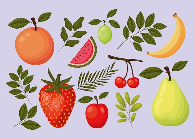 Pacote de frutas