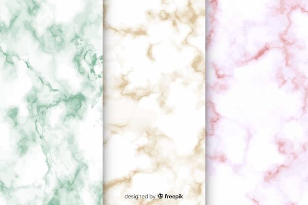 Pacote de fundo em mármore