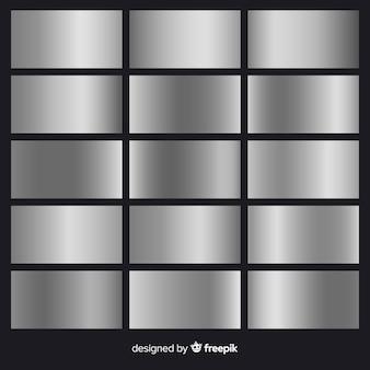 Pacote de gradiente de prata