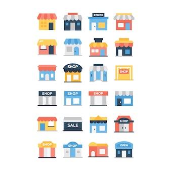 Pacote de ícones da loja