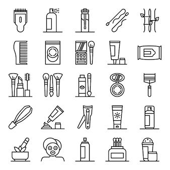 Pacote de ícones de beleza