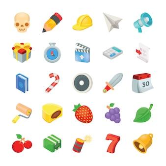 Pacote de ícones de jogos