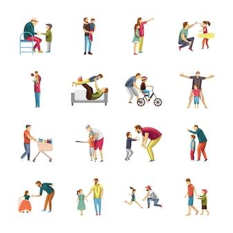 Pacote de ícones para educação infantil