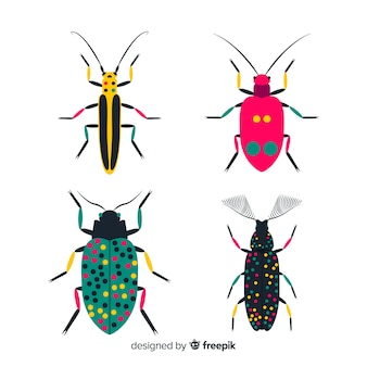 Pacote de insetos