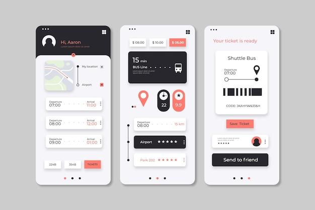 Pacote de interfaces de aplicativos de transporte público