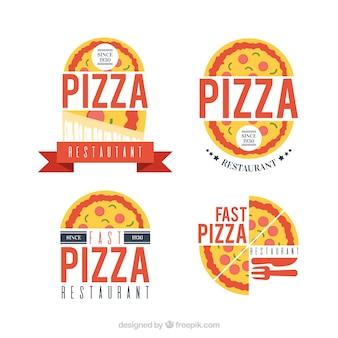 Pacote de logos de pizza