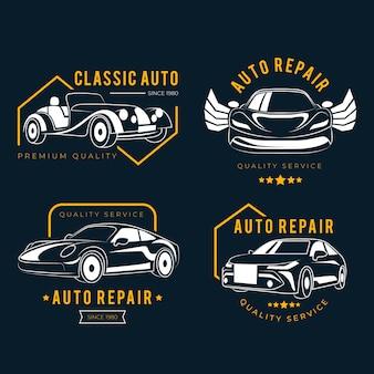 Pacote de logotipo de carro