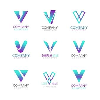 Pacote de logotipo v