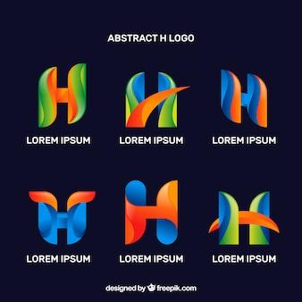 Pacote de logotipos coloridos