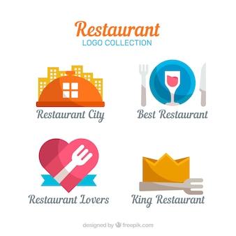 Pacote de logotipos do restaurante