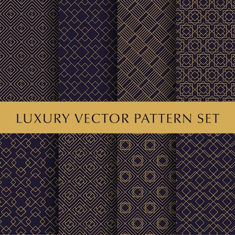 Pacote de luxo vintage padrão