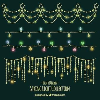 Pacote de luzes decorativas