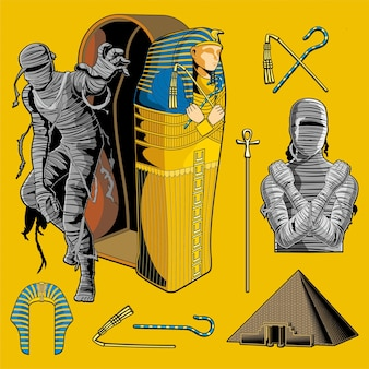 Pacote de múmia de vetores