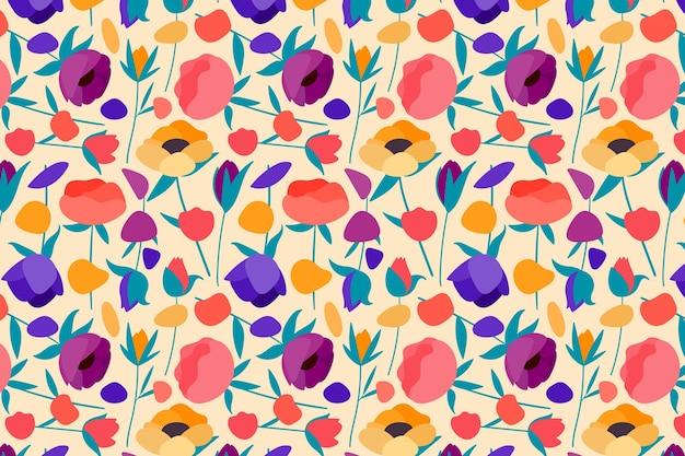 Pacote de padrão floral