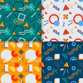 Pacote de padrões de memphis