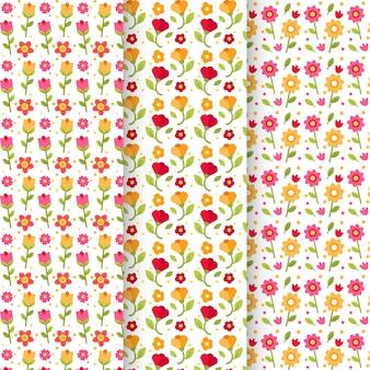 Pacote de padrões de primavera