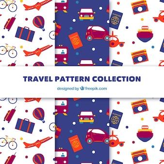 Pacote de padrões de viagem