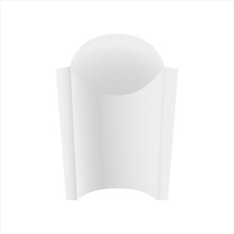 Pacote de papel de batata frita