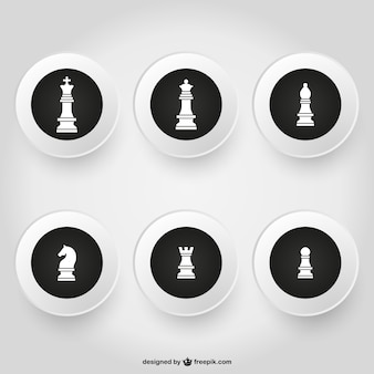 Pacote de peças de xadrez