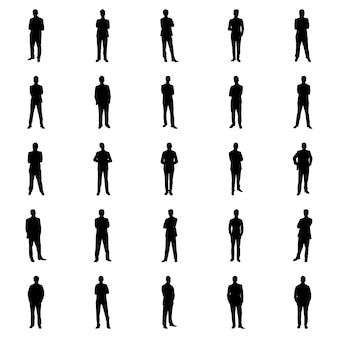 Pacote de pictogramas de avatares humanos
