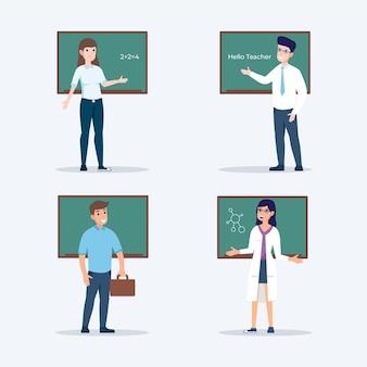 Pacote de professores