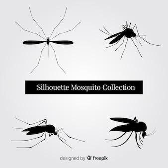 Pacote de silhueta de mosquito