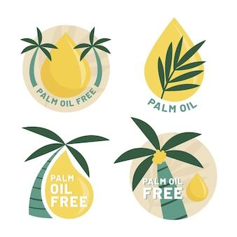 Pacote de sinalização de óleo de palma
