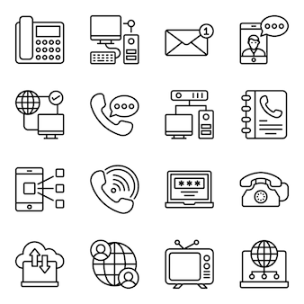 Pacote de tecnologias de comunicação s