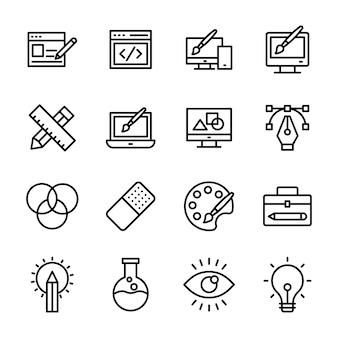 Pacote de web design