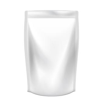 Pacote doy em branco com tampa de bico
