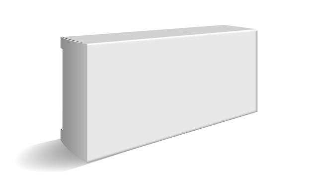 Pacote em branco da caixa para cosméticos ou comprimidos