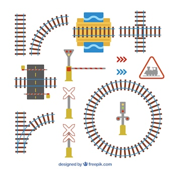 Pacote, ferrovias, sinais