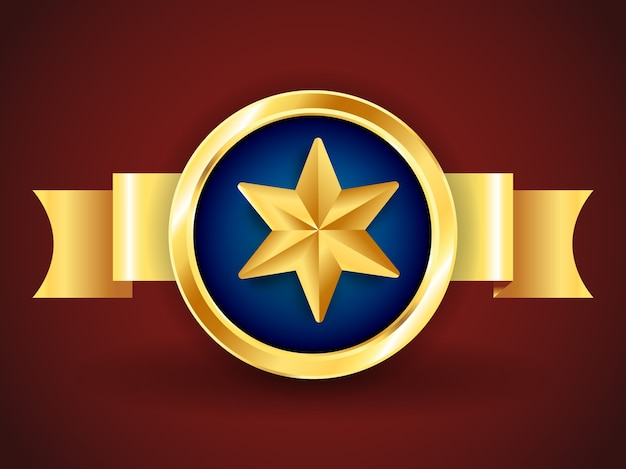 Pacote golden star ribbons