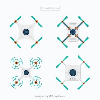 Pacote minimalista de drones modernos