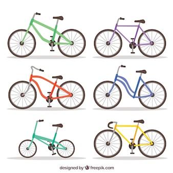 Pacote original de bicicletas modernas