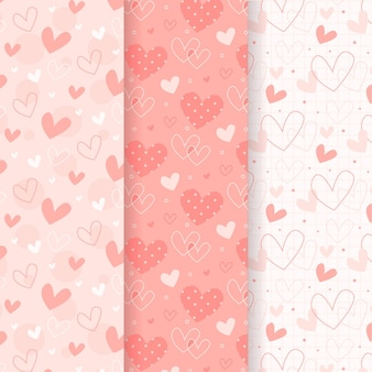 Pacote padrão de coração