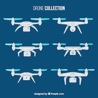 Pacote plano de drones