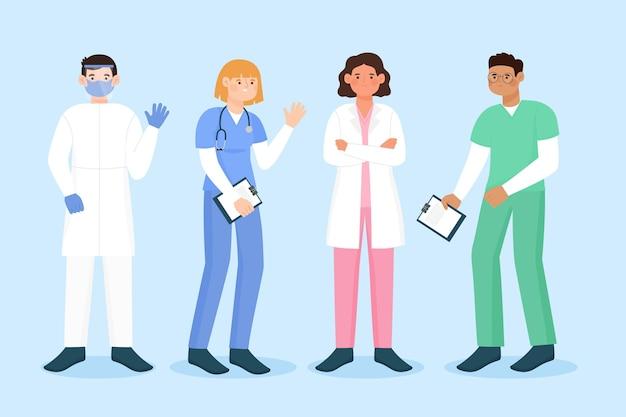 Pacote profissional de saúde