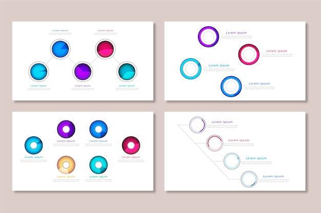 Pacote realista de diagramas de bolas pesadas
