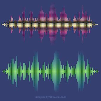 Pacote soundwave vintage