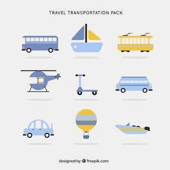 Pacote transporte viagem