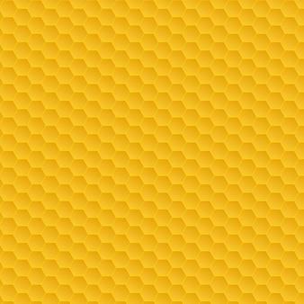 Padrão amarelo do favo de mel