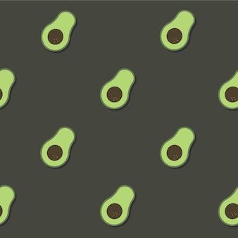 Padrão de abacate