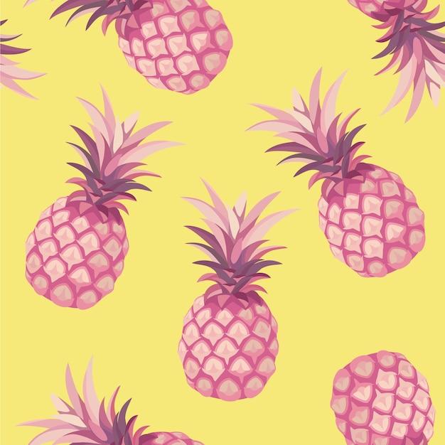 Padrão de abacaxi. textura perfeita.