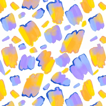 Padrão de aquarela abstrato