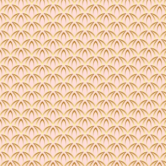 Padrão de arte em ouro rosa fofo