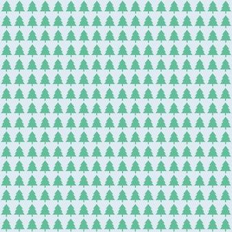 Padrão de árvores de natal